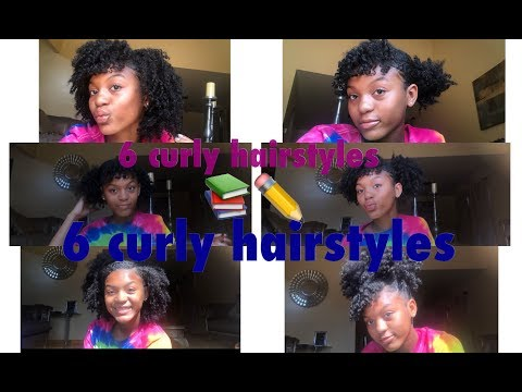 6 Back To School Curly Hairstyles!!!