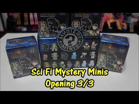 Funko Science Fiction Mystery Minis Opening part 3/3