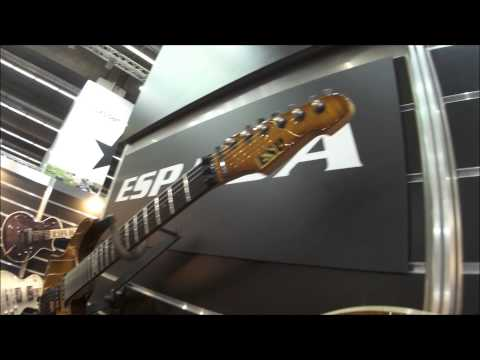 Musicmesse 2015 - ESP 40th Anniversary, USA and Limited guitars