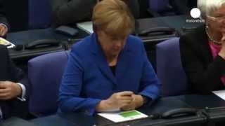 Путин унизил Меркель в Бундестаге