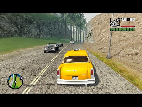 Grand Theft Auto IV: San Andreas BETA 3 Gameplay (4K)