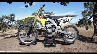 9. First Ride 2015 Suzuki RMZ 450 Motocross Action Magazine
