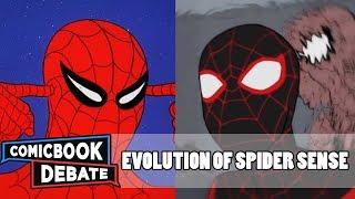 Evolution of Spider-Sense in Cartoons in 5 Minutes (2018)
