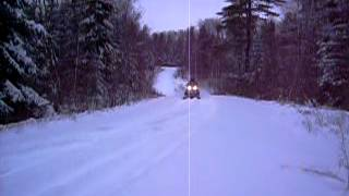 9. 2009 arctic cat bearcat 570 xt first ride
