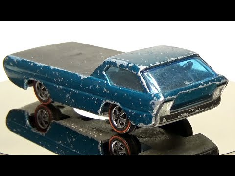 I had been having a lot of anxiety. Then I discovered this YouTube channel of a guy restoring vintage Hot Wheels cars.