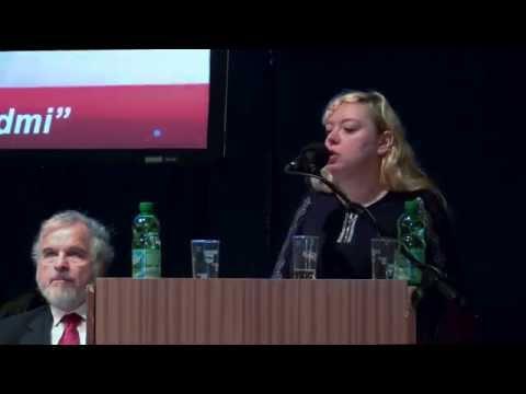"""Doc. Ing. Ilona Švihlíková, Ph.D.-""""VÝVOJ GLOBÁLNÍ EKONOMIKY A PROJEKTY VELMOCÍ"""" - VS 2014"""