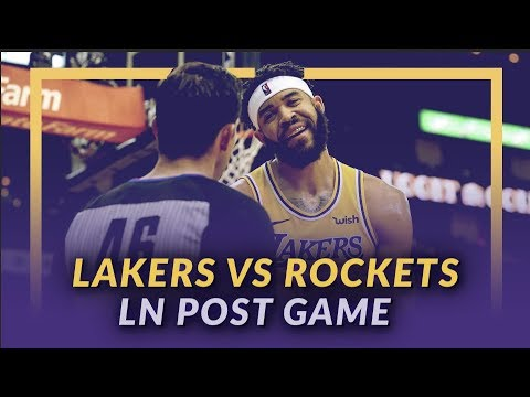 Video: Lakers Discussion: Lakers Lose to the Rockets, Questionable Calls, Free Throw Troubles