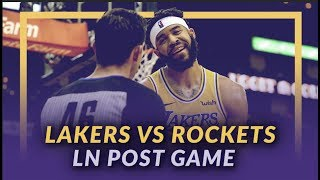 Lakers Discussion: Lakers Lose to the Rockets, Questionable Calls, Free Throw Troubles by Lakers Nation