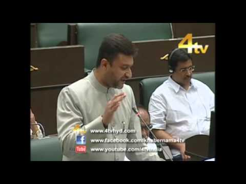 Akbaruddin Owaisi speech in Assembly (Waqf Lands & Minority Welfare) 29-03-2016
