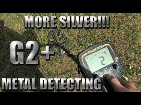 Metal Detecting:  Teknetics G2+ Gets A Silver Ring!