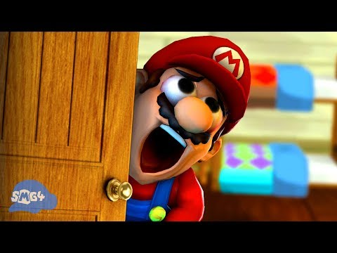 SMG4: Mario Gets His PINGAS Stuck In The Door
