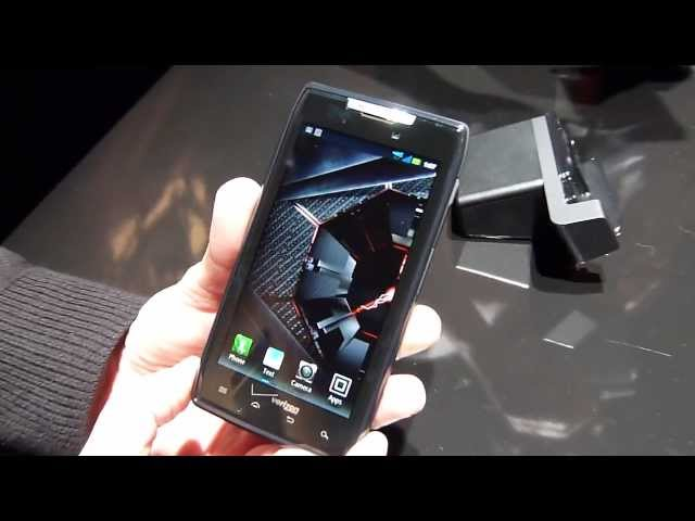Motorola DROID RAZR demonstration