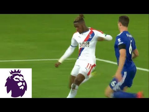 Video: Wilfried Zaha scores his second goal of the match v. Leicester City | Premier League | NBC Sports