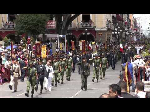 Puebla conmemora la Batalla del 2 de Abril de 1867