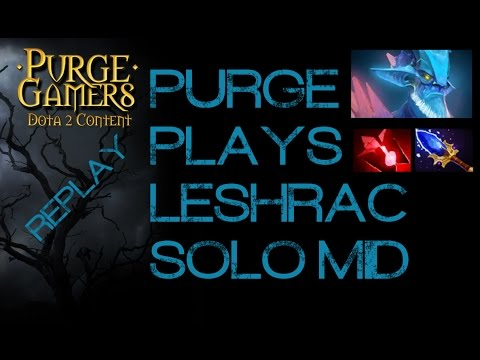 Dota 2 Purge plays Leshrac