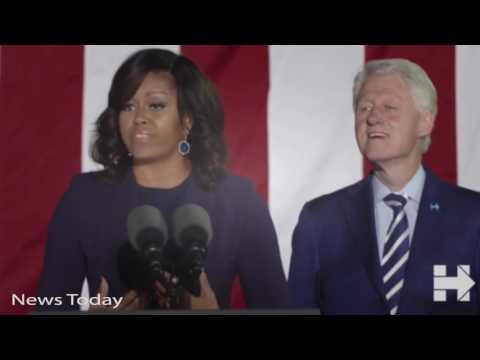 News Today ★ Live from Philadelphia  Pre election night rally  Hillary Clinton