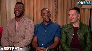 Video Winston Duke, Anthony Mackie & Sebastian Stan Dish on 'Avengers: Infinity War' MP3, 3GP, MP4, WEBM, AVI, FLV Mei 2019
