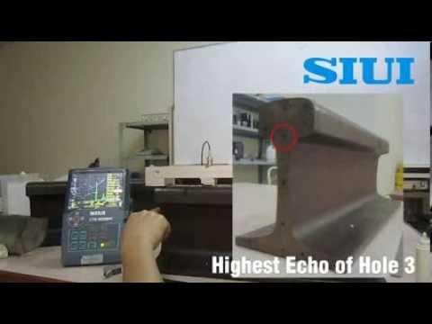 Rail Tek Ultrasonic Flaw Detector