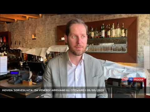 MOVIDA 'SORVEGLIATA': DA VENERDI' ARRIVANO GLI STEWARD   26/05/2020