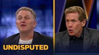 Michael Rapaport and Skip Bayless get into it after Mayweather's win vs McGregor   UNDISPUTED