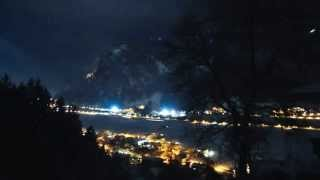 Beautiful Mountain View HD Timelapse Overlooking Mayrhofen /Austria