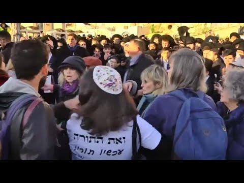 Ιερουσαλήμ: Επεισόδια μεταξύ γυναικών και υπερορθόδοξων εβραίων…