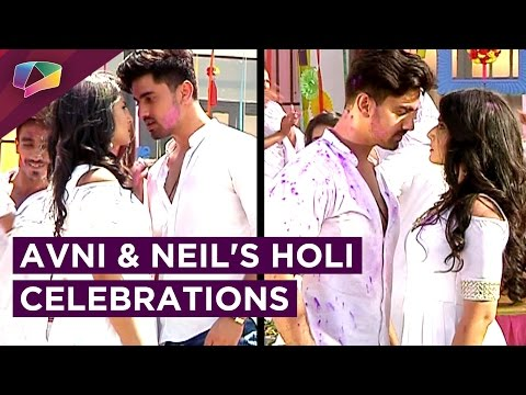 Avni And Neil Celebrate Holi Together | Avni's Mas