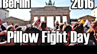 Breaking Berlin presents Pillow Fight Day 2016! More events: facebook.com/BreakingBerlinWorld Pillow fight day in Berlin, Germany in front of the iconic Brandenburg Gate. Follow The Adventures @TheHashtagHEROhttps://www.Facebook.com/TheHashtagHEROhttps://Twitter.com/TheHashtagHEROhttps://Instagram.com/TheHashtagHEROSubscribe our kickass mailing list to receive updates on Events, Hangouts, News and all things super!http://www.TheHashtagHERO.com/events