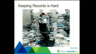 This session will present a practical workshop on the Alfresco Records Management 2.1 implementation from the standpoint of a...