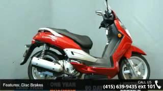 9. 2009 SYM Citycom 300i Less than 1,000 mi. - SF Moto - San...