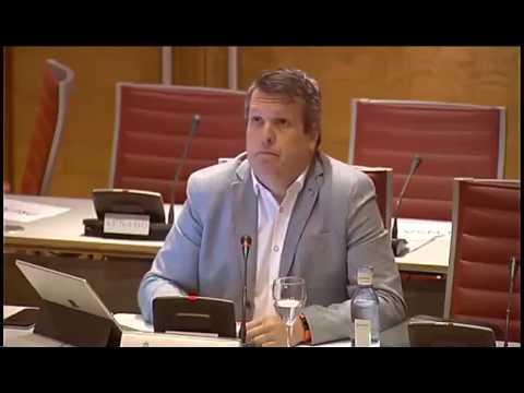 En la comisión de investigación de financiación, PSOE, Ciudadanos y Podemos... ¡Caramba!