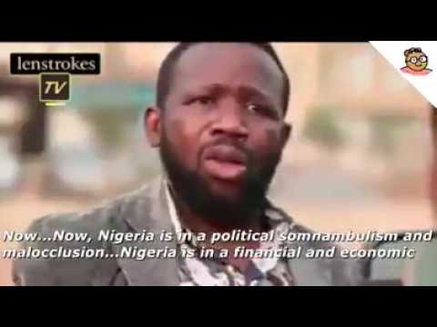 Nigerian English Professor Comments On Increased Electric Tariff With SubTitles