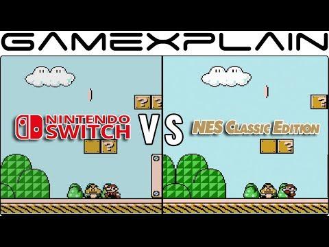 Nintendo Switch Online vs. NES Classic - Head-to-Head Emulation Comparison