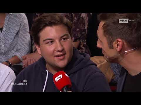 Wahlarena live aus Potsdam: Vor der Landtagswahl in B ...
