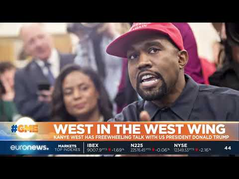 #GME | Kanye West has freewheeling talk with Trump in the West Wing