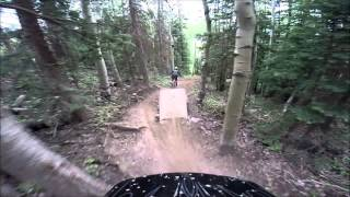 Female Shredder Shyann Downhill Mountain Biking - Telluride, COIf you like our videos please give us a like and subscribe!YouTube: https://www.youtube.com/user/yuriknortonFacebook: https://www.facebook.com/TeamNinePointEightInstagram: http://instagram.com/teamninepointeightTwitter: https://twitter.com/TeamNineEight