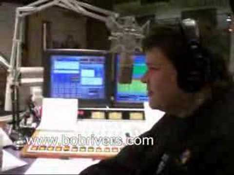 Comedian Rich Vos in The Bob Rivers Show, Part 2 - 01-25-08