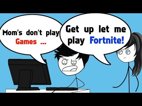When a Gamer's Mom Plays Fortnite Battle Royale