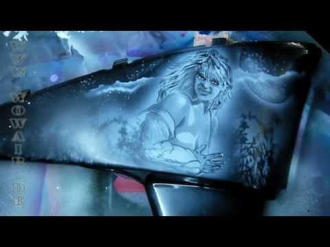 ... crazybrush airbrushing airartifex custom autoart airbrushing the hulk