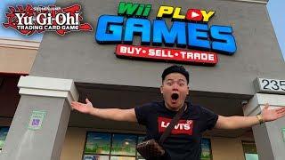 Yu-Gi-Oh! THE BIGGEST CARD STORE IN LAS VEGAS TCG (TCG YuGiOh Shop in Las Vegas Tour 2019)