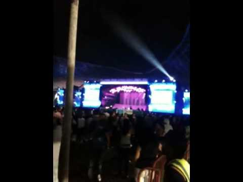 Kanye West - Flashing Lights live @ Ferrari world Abu Dhabi