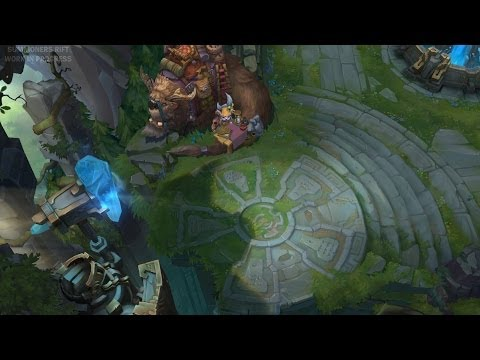 [LMHT] Update to Summoner's Rift – Pre Beta Footage