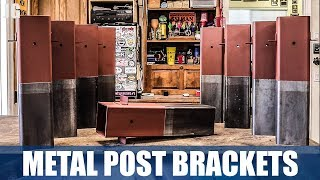 I welded and fabricated these 6x6 metal post brackets for a client. It was fun to get to use the Dewalt mag drill and do a bunch of welding for a small project like this. Not the hardest thing we've had in the shop but always fun. Don't forget to Subscribe! https://goo.gl/kWECHLLAST BUILD VIDEO: https://youtu.be/EGaLesJ4DTcCheck out Jimbo's Metal Working videos here: http://bit.ly/20Dpj8t FOLLOW JIMBO!Facebook: https://www.facebook.com/TheOfficialJimbosGarage/Twitter: https://twitter.com/JimbosGarageInstagram: https://www.instagram.com/jimbosgarage/Where to buy Jimbos Tools:FEIN Tools Multitool: http://amzn.to/2fQ0zxwYost Vice: http://amzn.to/2cbbUq4DeWalt Mag Drill: http://amzn.to/2bPPNVzRikon Band Saw: http://amzn.to/2c21EvxEverlast Welder: http://amzn.to/2c8Dcf2Dewalt Table Saw: http://amzn.to/2cCLrm7Rikon Lathe: http://amzn.to/2bPPA4IBosch Miter Saw: http://amzn.to/2c3DMb3Ryobi Grinder: http://amzn.to/2c7afzoRyobi Drill Press: http://amzn.to/2c3DFfHRyobi Belt Sander: http://amzn.to/2cbaI62Husky Tool Box: http://amzn.to/2c3EntkEVERLAST Power Tig 210EXT: http://amzn.to/2pPBSl1EVERLAST Plasma Cutter 60S: http://amzn.to/2pyBZlOJimbo's Garage is a channel to find the how to's of welding, wood & other fun projects. Also see reviews on popular tool brands like FEIN, HILTI, DEWALT, MIKITA, RYOBI and more!