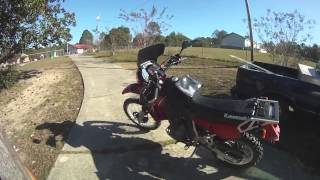 1. My 2005 KLR 650 Review and mods