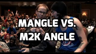 Short video I made explaining the difference between mew2king angles and mangles.