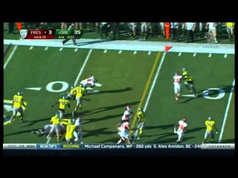 Derek Carr vs Oregon 2012 video.