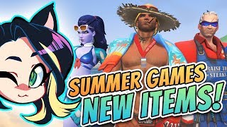 ► Overwatch SUMMER GAMES 2017 REVEAL! ► NEW ITEMS! ► Kitty Kat Gaming