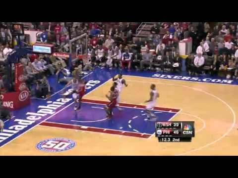 John Wall's Nice Block vs. 76ers