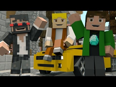 Minecraft Song 'minecraft Life' Animated Minecraft Music Video - Tryhardninja