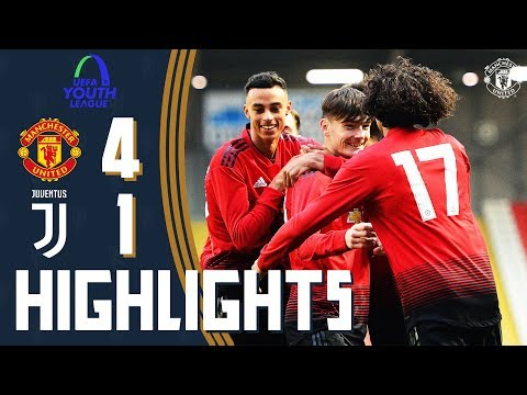 U19 Highlights | Manchester United 4-1 Juventus | UEFA Youth League